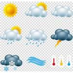 Weather Clipart Icon Cloud Forecast Rain Transparent