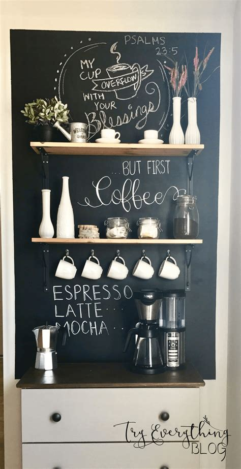 charming diy coffee station ideas   coffee lovers