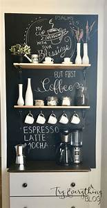 30, Charming, Diy, Coffee, Station, Ideas, For, All, Coffee, Lovers