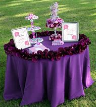 Bridal Shower Welcome Table Ideas