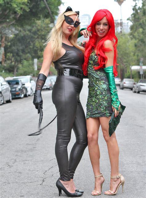 halloween diy catwoman poison ivy