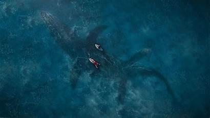 Jurassic Fallen Kingdom Wallpapers Mosasaurus Sea 1080