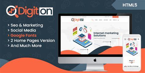 Digital Agency Seo Marketing Html Template Nulled by Digiton Seo And Digital Agency Html Template Download