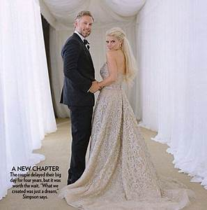 jessica simpson eric johnson wed july 2014 celebrity With jessica simpson wedding dress