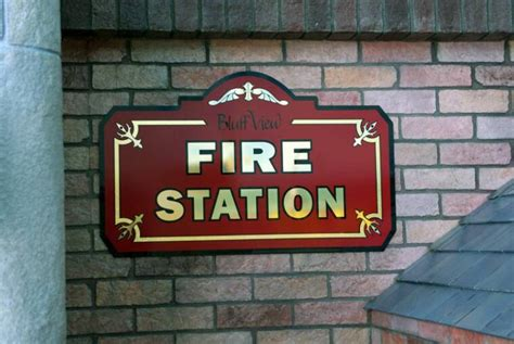 diverse signs bluff view preschool 743 | Fire Station Sign2 op 760x509