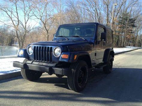 tan jeep wrangler 2 door sell used 2000 jeep wrangler sahara sport utility 2 door 4