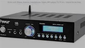 Stereo Amplifier Bluetooth