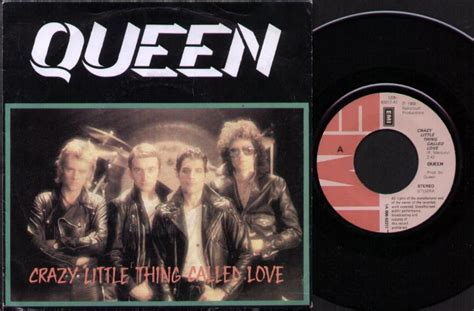Queen Crazy Little Thing Called Love Records, Vinyl And