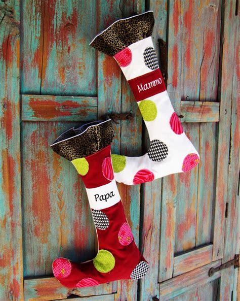 whimsical christmas stocking pattern  tutorial
