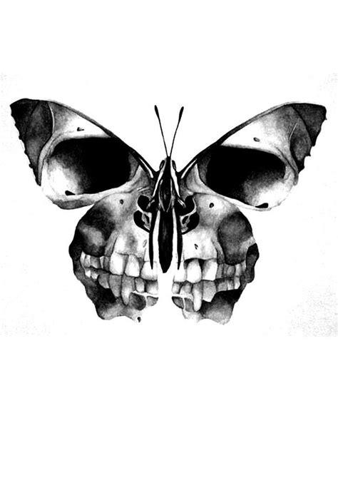 Scull butterfly   Skull butterfly tattoo, Girl skull, Girl