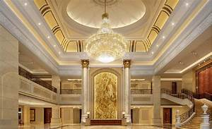 aviation hotel lobby interior design. bright design of ...