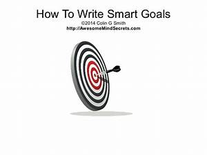 how to write smart goals With smart goal powerpoint template
