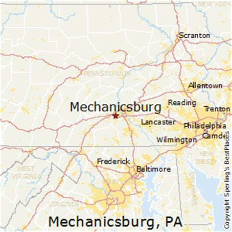 best places to live in mechanicsburg pennsylvania