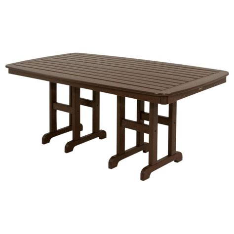 white round outdoor table trex outdoor furniture monterey bay 48 in classic white