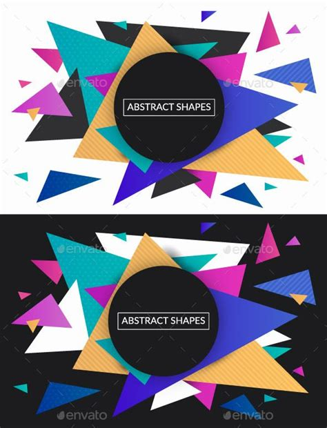 Easy Abstract Shapes by Best 25 Abstract Shapes Ideas On Graphic