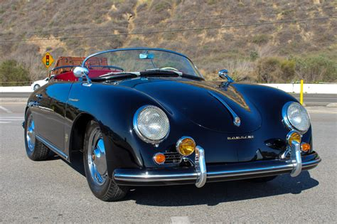 old porsche speedster 1956 porsche speedster 356 replica professionally restored