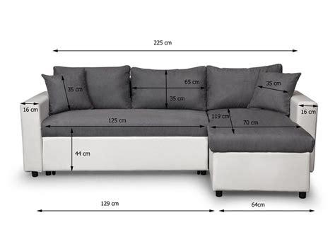 grand canapé d angle en u canapé d 39 angle réversible et convertible avec coffre gris