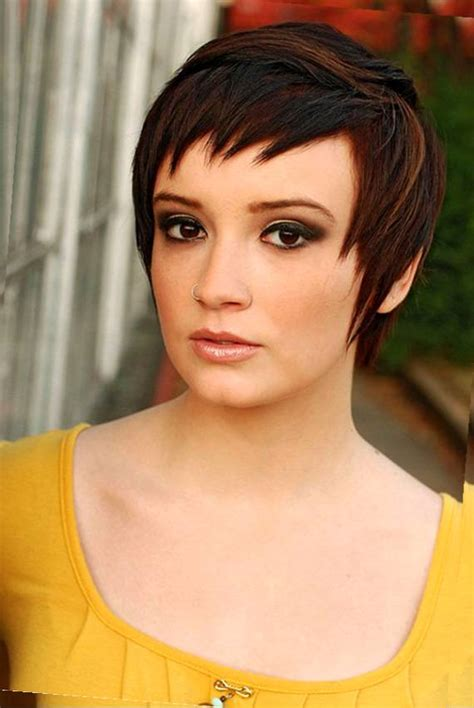 Flattering Hairstyle Double Chin   Short Hairstyle 2013