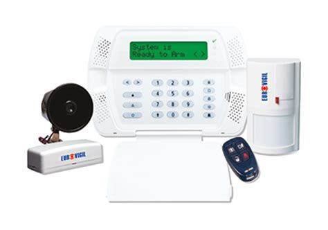 what are the different types of intruder alarm system available with eurovigil eurovigil