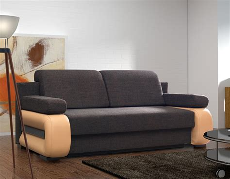 fabrication canapé canap convertible contemporain avec coffre delia 2
