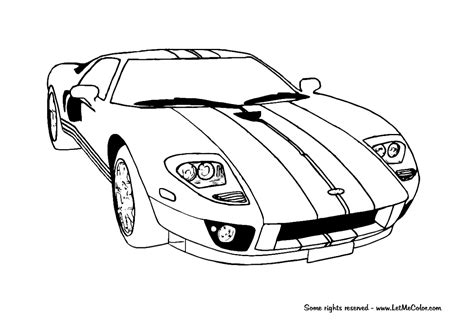 real cars coloring pages   print