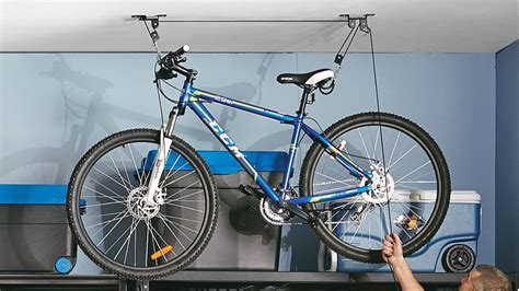 Ceiling Bike Rack Canadian Tire by How To Organize Your Garage Canadian Tire
