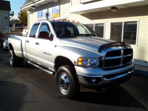 purchase used 2005 dodge ram 3500 diesel dually 4x4 in johnston rhode island united states