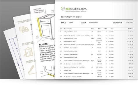 Kitchen Cabinet Pricing & Estimates  Cliqstudios