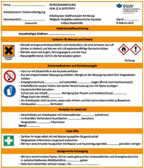 Experten Rat Die Uebergangsphase Regeln by Umwelt Demo Archivdatei Bgi Guv I 8658 Dguv