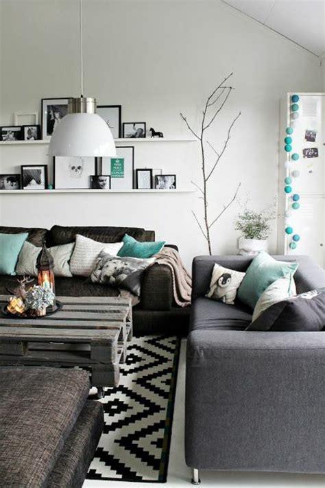 deco salon avec canape gris beaucoup d idées pour comment décorer salon