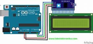 Cara Program I2c Lcd Karakter 16x2 Menggunakan Arduino