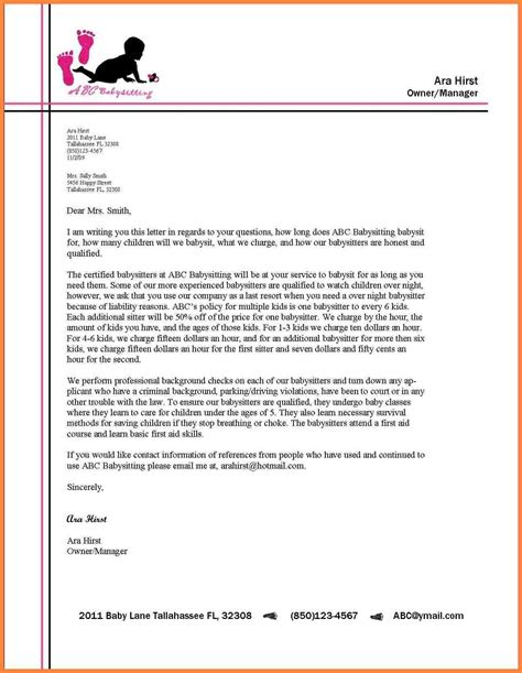 formal letter format  letterhead  world