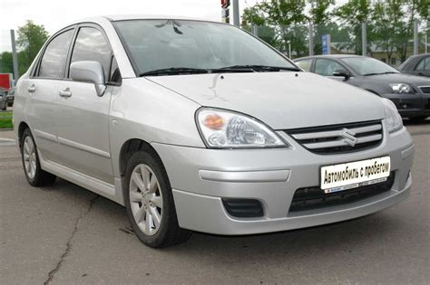 2004 Suzuki Cars by 2004 Suzuki Liana Pictures Gasoline Manual For Sale