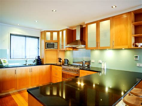 kitchen cabinets designs photos kitchens image u shaped wood panelling 7153681 6013