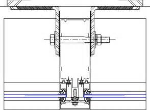 Ykk Curtain Wall Details by Deadload Anchor Details Ycw 750 Og 08 44 13 Curtain