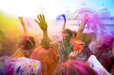 Dyeing Culture Color Run, Whitewashing Holi Since 2012