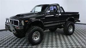 1981 Toyota Pickup Black