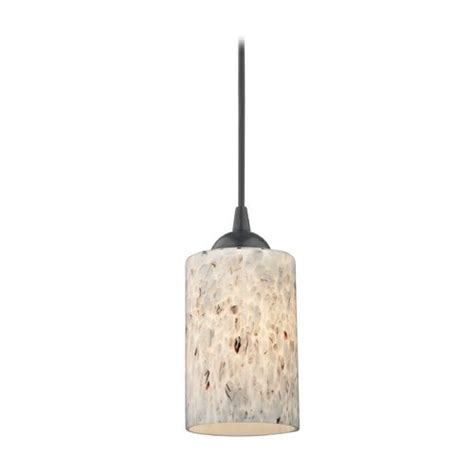 black mini pendant light with dome glass shade