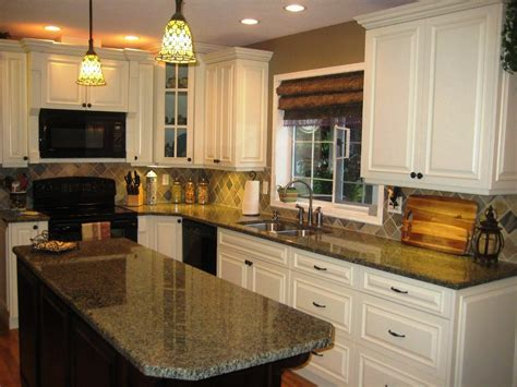 Top 10 Cream Colored Kitchen Cabinets  Gosiadesigncom