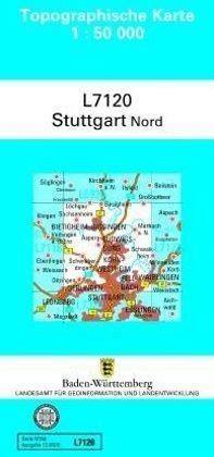 Topographische Karte Baden Württemberg