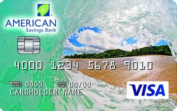 This current savings account is an atm debit account and mastercard in one. American Savings Bank Secured Credit Card Review ...