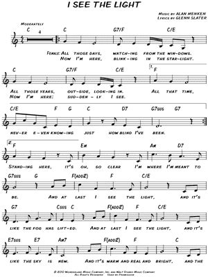 i see the light piano pdf mandy moore quot i see the light quot sheet music download print