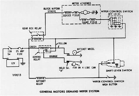 1970 Wiring Diagram Chevy Wiper Motor by Wiper Motor Wiring Diagram Impremedia Net