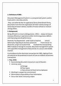 Guidelines for document management system 23 for Document management system guidelines