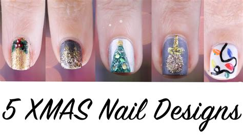 nageldesign selber machen kurze nägel 5 nageldesign f 252 r weihnachten selber machen anf 228 nger kurze n 228 gel nail tutorial