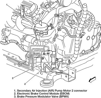 do you a diagram to help replace abs module 2003 dts