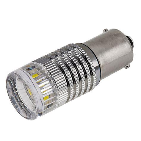 1156 led bulb 1 high power led w reflector lens ba15s