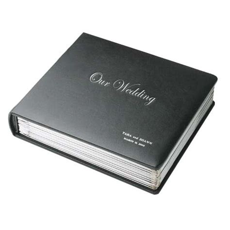 leather wedding albums sticky leather album cover leather wedding album