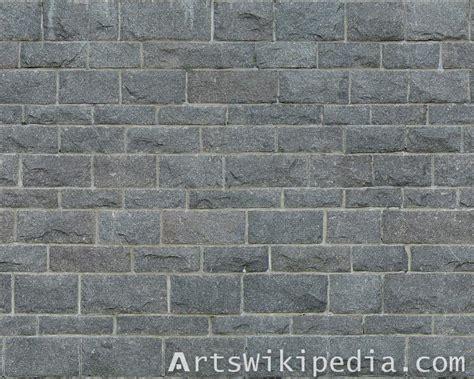 Dark Gray Brick Wall Texture
