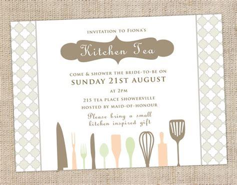 kitchen tea invites ideas 31 best kitchen tea invitations images on
